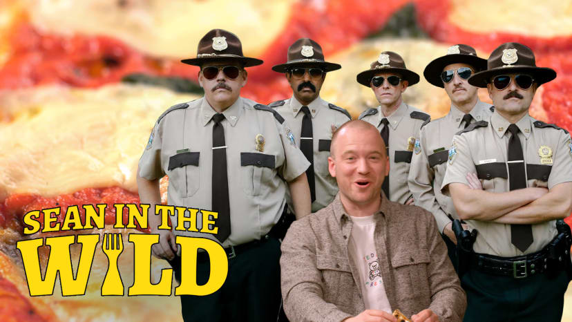Ranking the Best Frozen Pizzas with the Super Troopers Cast   Sean in the Wild