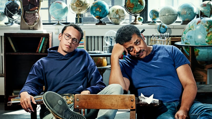 Logic and Neil deGrasse Tyson Cover
