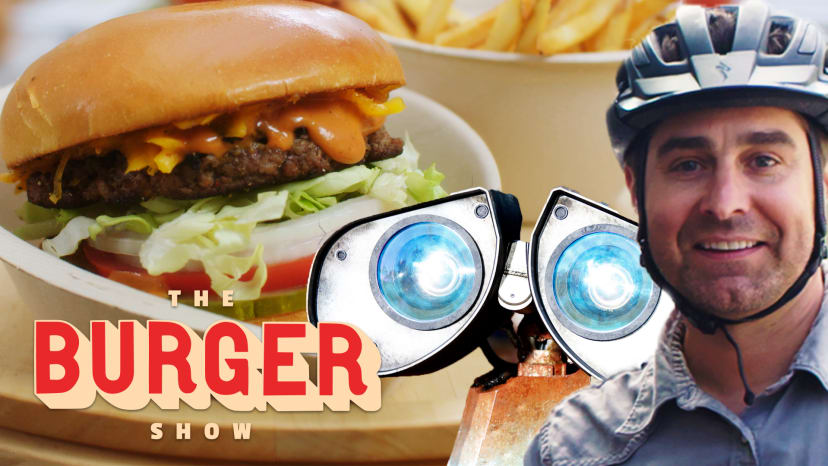 MythBusters Tory Belleci Tests a Burger Robot | The Burger Show