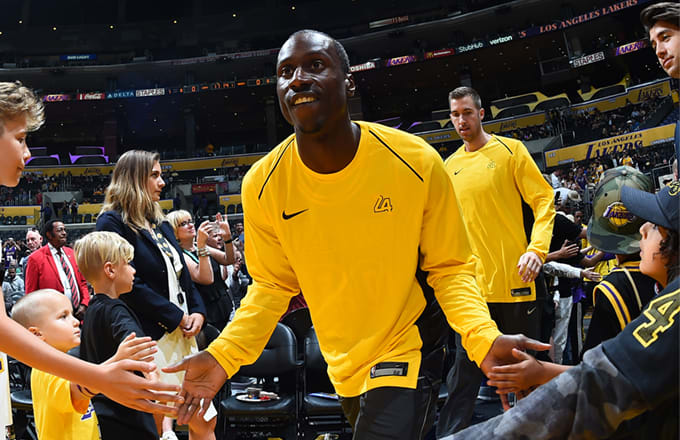 32YearOld Rookie Andre Ingram Shines in First NBA Game After 10