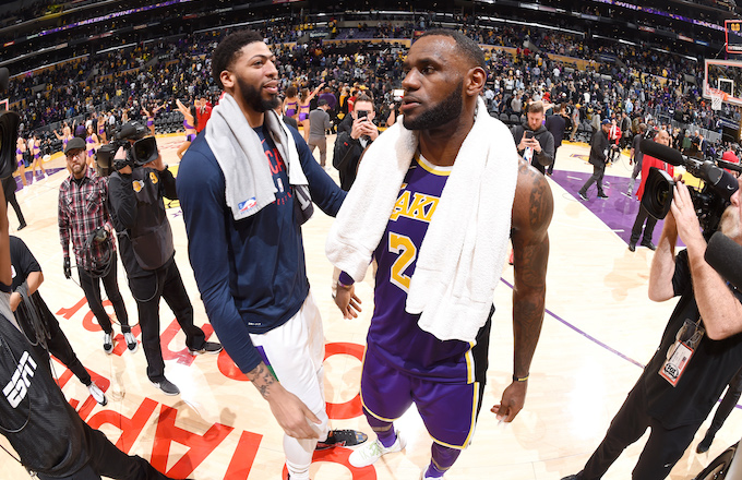 Lộ diện dàn hảo thủ cực chất bên cạnh LeBron James cho phim điện ảnh bóng rổ Space Jam 2