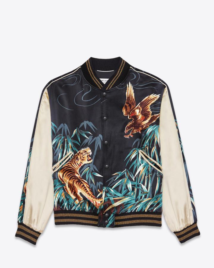 saint laurent jacket worn by kanye