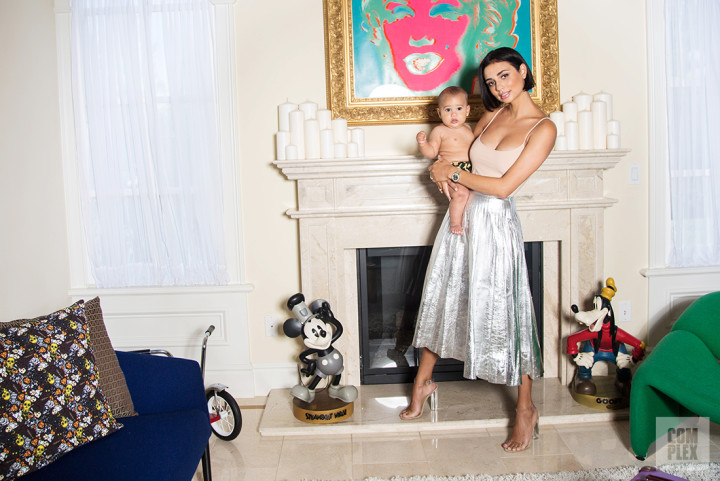 Kristen Noel Crawley and her son, Luc, at their Los Angeles, Calif. home in August, 2016.
