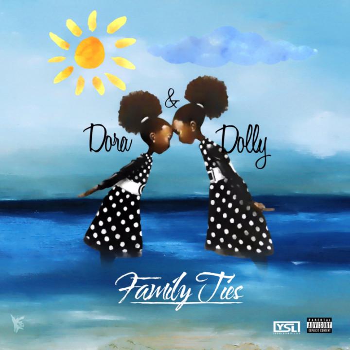 Dora & Dolly mixtape cover.