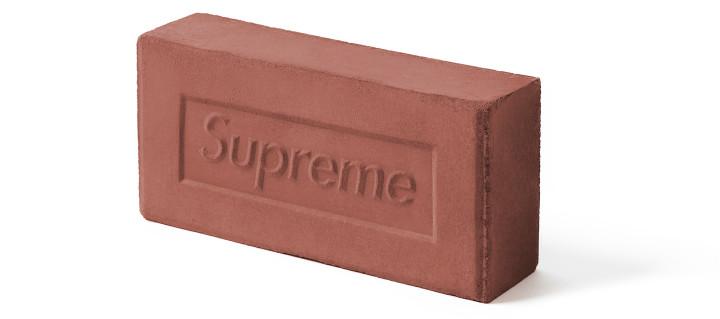 Supreme F/W 16 Brick