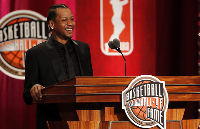 f6abcb673e6 Watch Allen Iverson's Full, Legendary Hall of Fame Induction Speech ...