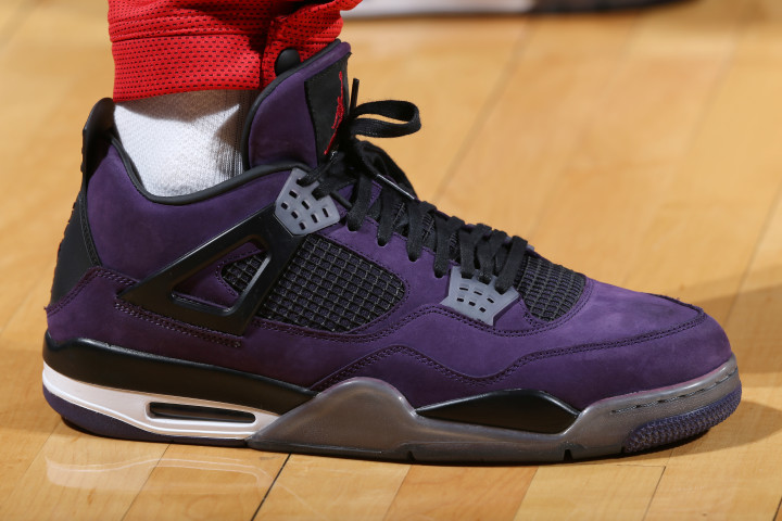 info for 47829 8380b PJ Tucker Travis Scott x Air Jordan 4 Purple