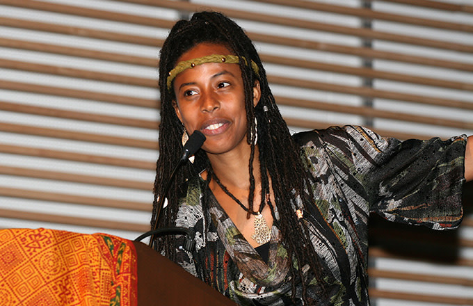 This is a photo of Bob Marley's Granddaughter.