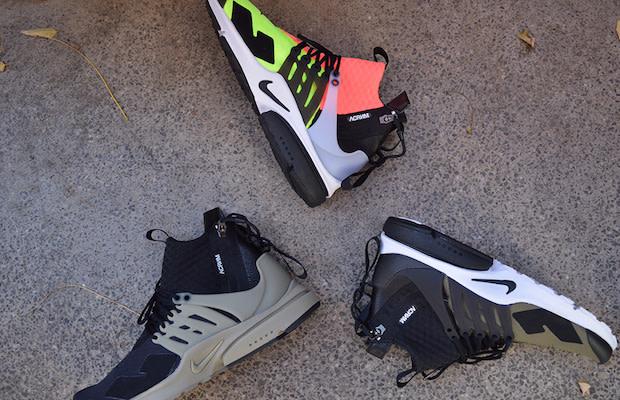 Acronym Nike Air Presto Mid