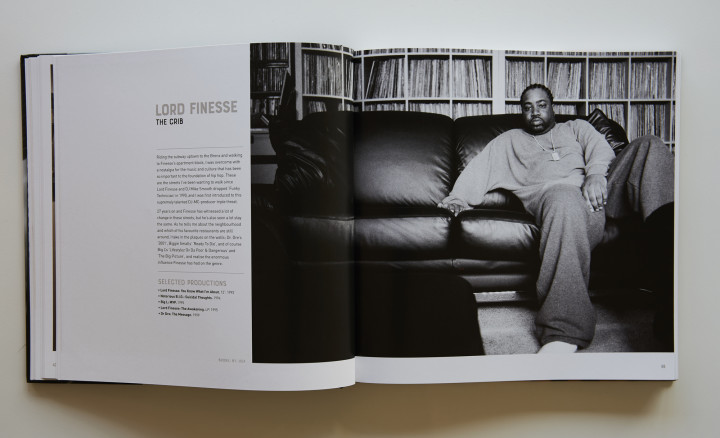 Back To The Lab book – Lord Finesse spread