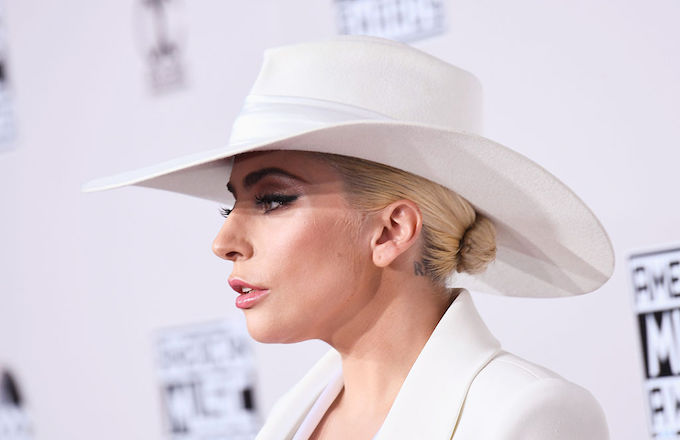 Gaga at AMAs