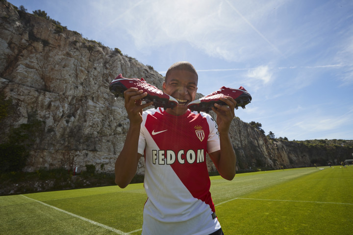 huge discount 697e4 3cc71 Nike Just Gave AS Monaco Sensation Kylian Mbappé His First ...