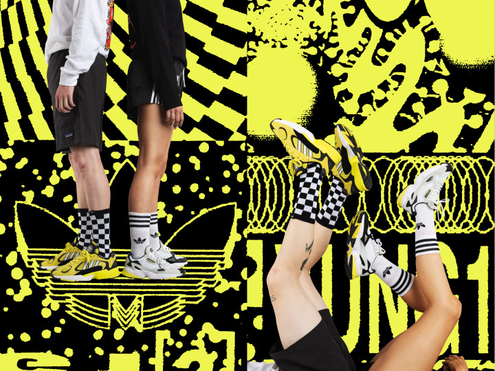 Adidas Pays Homage to UK Acid House Culture w Sneakers