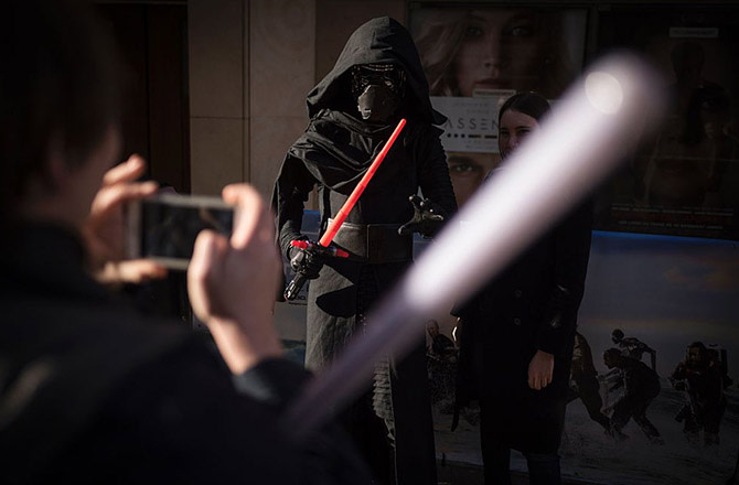 This is a photo of Kylo Ren.