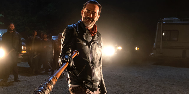 Jeffrey Dean Morgan as Negan, 'The Walking Dead'