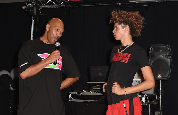LaVar Ball and Melo Ball
