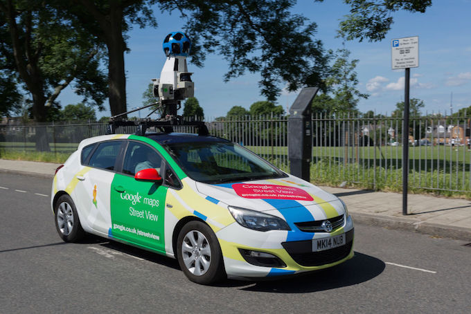 google-maps-car