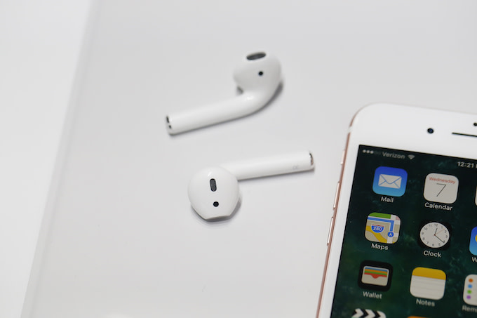 This is a picture of Airpods.