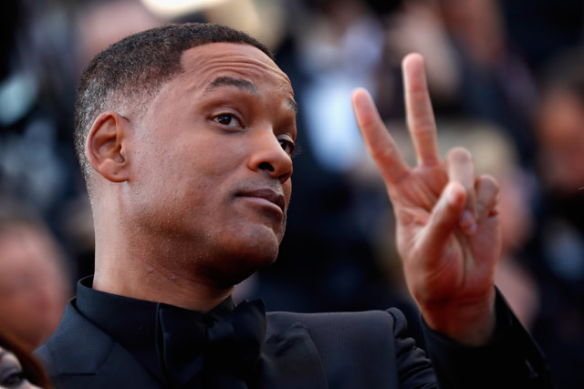 Will Smith attends the Closing Ceremony during the 70th annual Cannes Film Festival