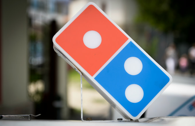 The Dominos Pizza logo