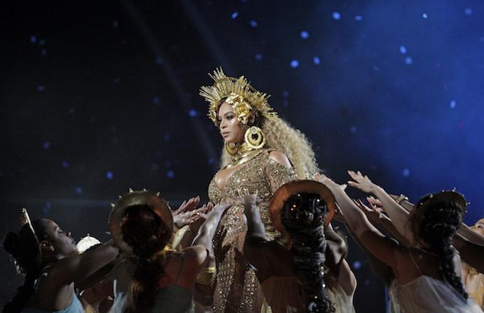 Beyoncé at Grammys