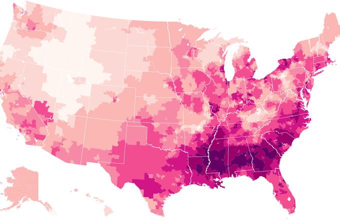 Detailed Maps Reveal Where Beyoncé, Lil Uzi Vert, and Future ...