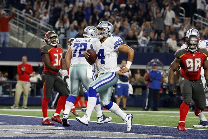 Dak Prescott Dallas Cowboys Tampa Bay 2016