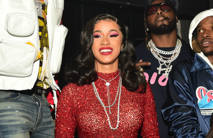 Offset and Cardi B attend Offset's 'Father of 4' album release party
