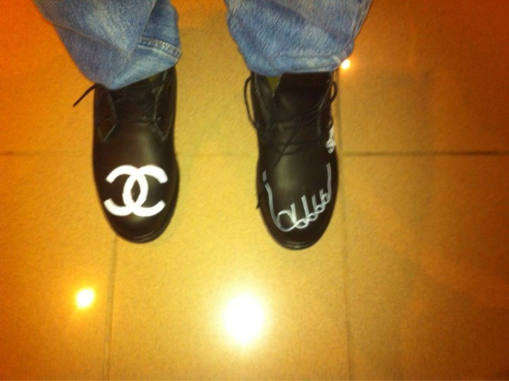 Pharrell Timberland Chanel Boots