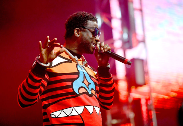Gucci Mane performs onstage at the Rolling Loud Festival
