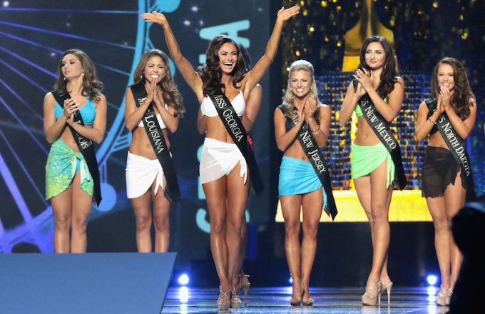 Miss America swimsuits