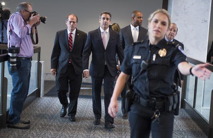 Michael Cohen Office Raided