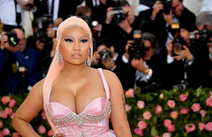 Nicki Minaj attends The 2019 Met Gala Celebrating Camp