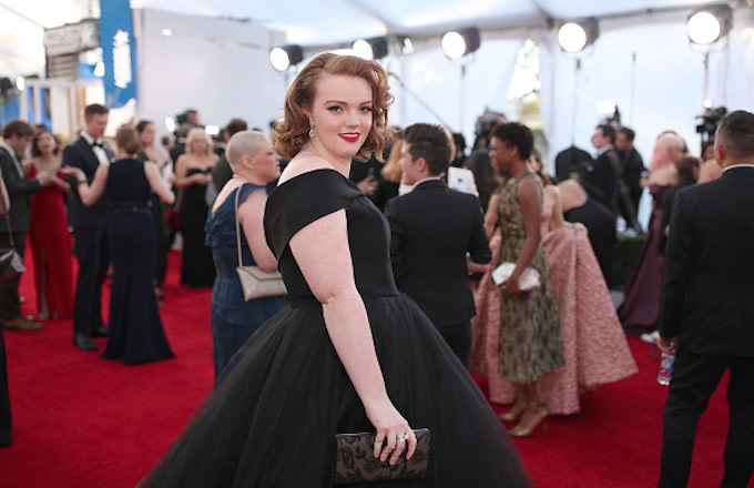 Shannon Purser attends The 23rd Annual Screen Actors Guild Awards