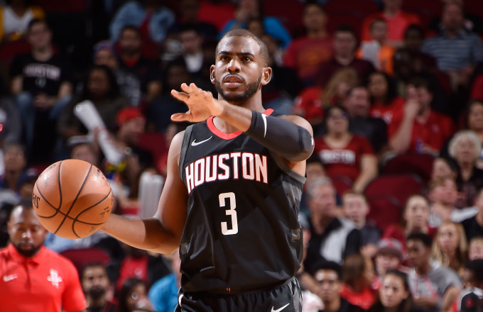Chris Paul #3 of the Houston Rockets