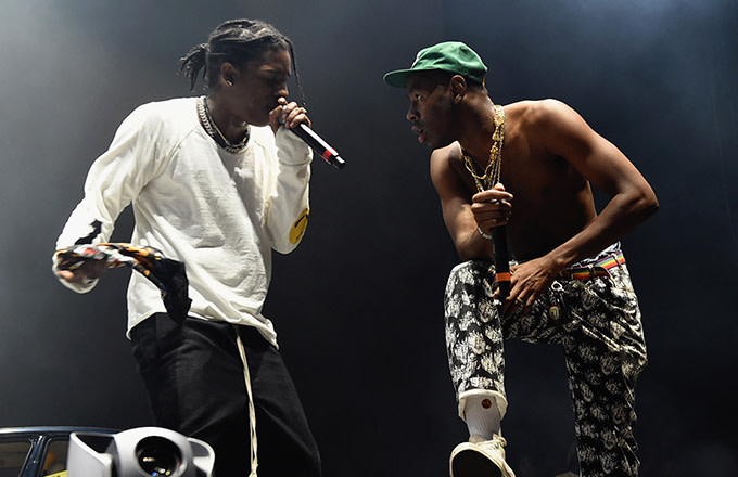 ASAP Rocky and Tyler, the Creator
