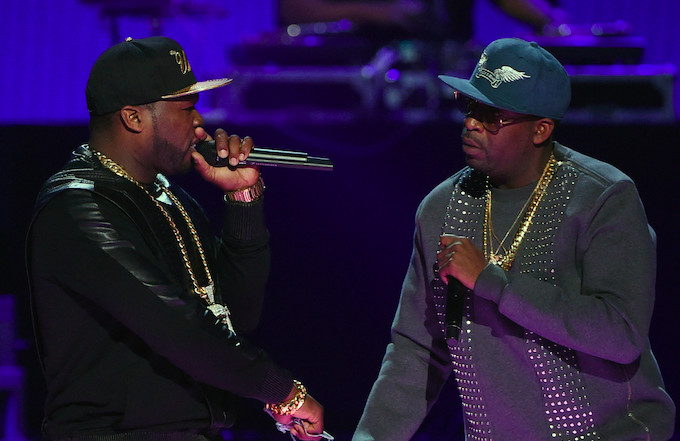 50 Cent and Tony Yayo