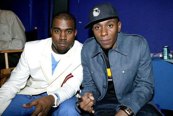 Kanye West and Yasiin Bey