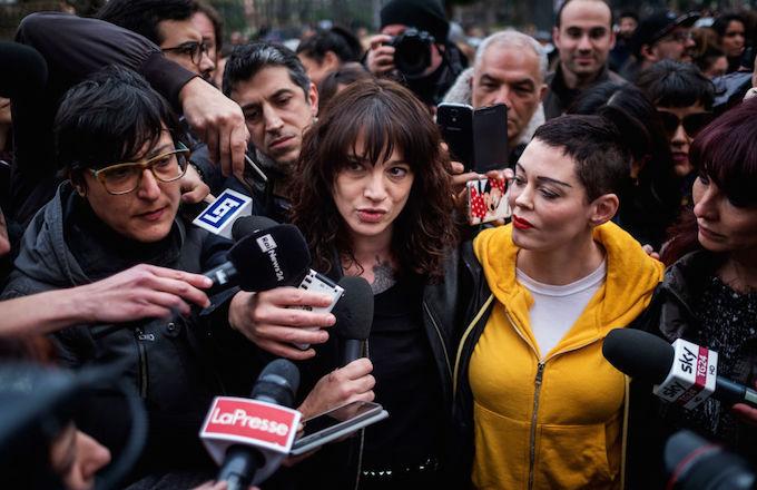 Asia Argento threatens Rose McGowan