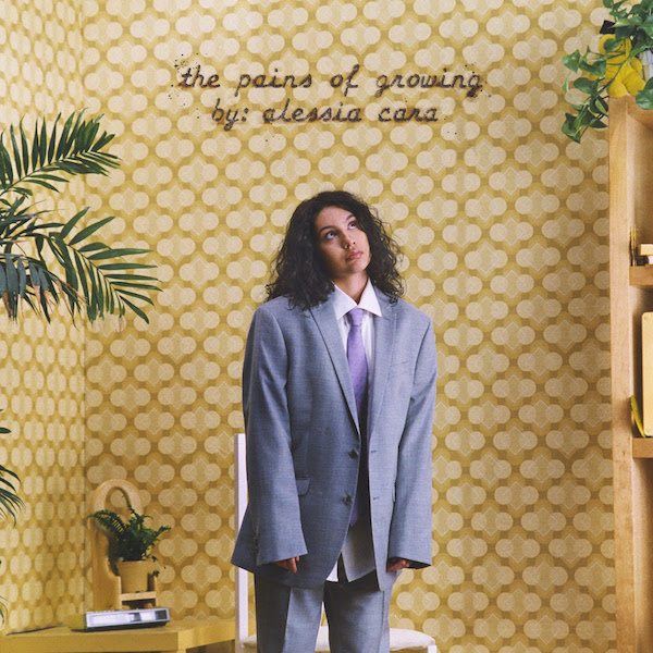 Alessia Cara cover art for 'The Pains of Growing'