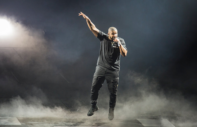 Drake performs at First Direct Arena Leeds
