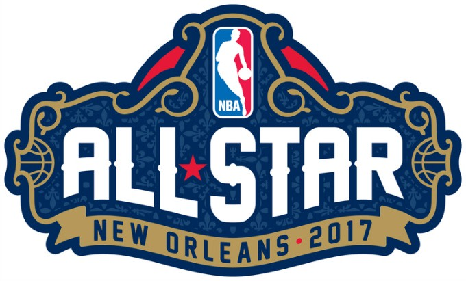 2017 NBA All-Star Game logo.