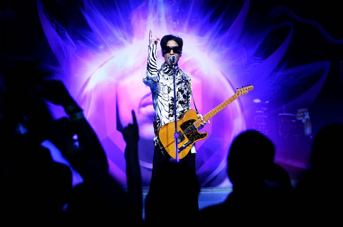 This is a picture of Prince.