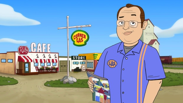 Corner Gas is being rebooted into an all-new animated version to be broadcast on The Comedy Network