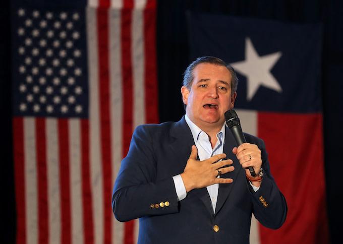 Ted Cruz in Texas
