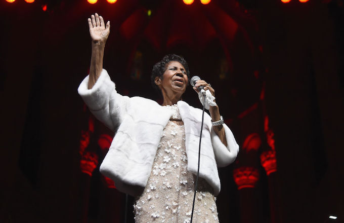 Aretha Franklin tribute
