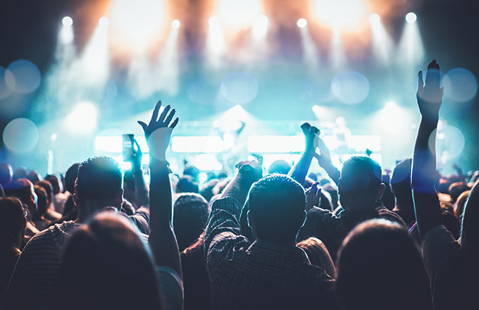 This is a photo of music festivals.