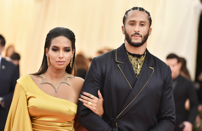 Nessa and Colin Kaepernick attend The 2019 Met Gala Celebrating Camp