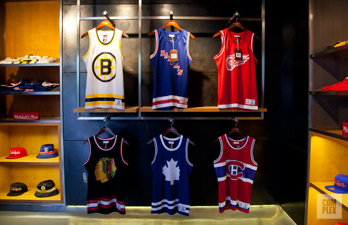 size 40 bdb9d b4c9e Concepts x Mitchell & Ness Hockey/Basketball Jerseys | Complex