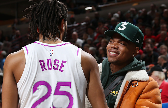 Derrick Rose, Chance the Rapper